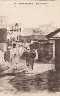 MAROC - CASABLANCA - RUE TNAKER - Casablanca