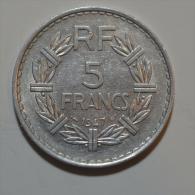 5 Francs Alu - France