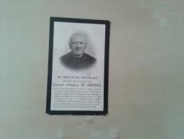 Eerwaarden Heer Joannes-Josephus De Amandel Humbeek 1816 - Vilvoorde 1901 - Documentos Históricos