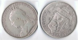 CHIPRE CYPRUS 18 PIASTRAS PIASTRES 1901 - Chipre