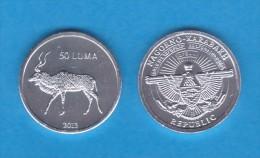 "NAGORNO  KARABAKH  50 Luma 2.013  2013 ""Ciervo"" Aluminio/Aluminium   SC/UNC  T-DL-10.766 - Nagorno-Karabakh"