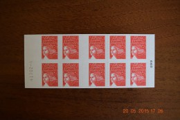 2001 Carnet Marianne De LUQUET - Réf. YT 3419 C2 - Carnets