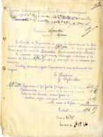 AUCH CHAMBRE DE COMMERCE DU GERS   COMITE DE REPARTITION DU SUCRE  -  JANVIER 1919 - Alimentare
