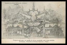 VISEU - LAMEGO - Santuario De Nossa Senhora Dos Remédios  Carte Postale - Viseu
