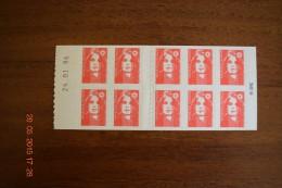 1996 Carnet Marianne De BRIAT- Réf. YT 2874-C6 Daté 24-01-96 - Carnets