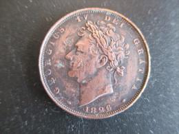 Grande Bretagne, Georges IV , Farthing 1826, TTB - 1816-1901 : Frappes XIX° S.