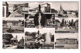 Allemagne - Gruss Aus Zweibruecken - Multivues 11 Vues Hauptstrasse , Festhalle , Alexanderkirche ... - CPM Glacée - Zweibruecken