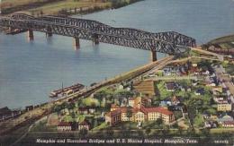 Memphis And Harraham Bridges And U S Marine Hospital Memphis Ten