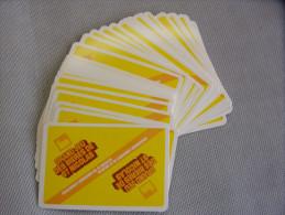 Publicit� - Bi�re Saint-Nicolas : Jeu de 32 cartes - Saint-Nicolas-de-Port (54)