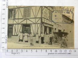 CPA (77) Seine Et Marne - LISY SUR OURCQ - Hôtel Du Cheval Rouge - Lizy Sur Ourcq