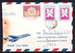 COVERS-2-08 AVIA LETTER FROM VIETNAM TO PRAHA.