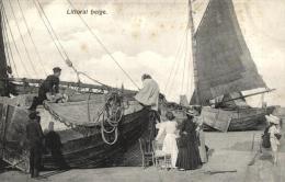 BELGIQUE - Litoral Belge. - Fishing
