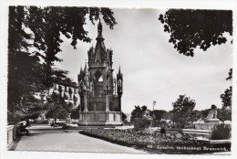 Cpsm - Genève - Monument Brunswick - 9x14 Cm - GE Geneva