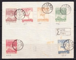 COVERS-2-10 COVER WITH THE GREECE STAMPS. CANCELLATION MYTILINI. - Grecia