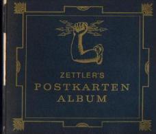 « ZETTLER'S POSTKARTEN ALBUM » - ZETTLER, Alois, Meissner Verlag München  : Début De L'utilisation De L'électricité - Livres