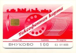 Russia  Vnukovo Red 100 Units - Russia