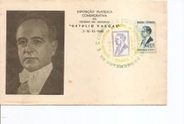 Brésil - Getulio Vargas ( FDC De 1957 à Voir) - FDC