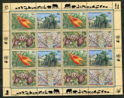 1996 Nazioni Unite New York, Protezione Della Natura, Minifoglio Nuovi (**) - Blokken & Velletjes