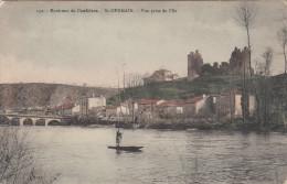 CPA Environs De Confolens, St Germain, Vue Prise De L'ile (pk18495) - Confolens
