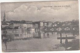 CPA Confolens, Rive Droite De La Vienne (pk18496) - Confolens