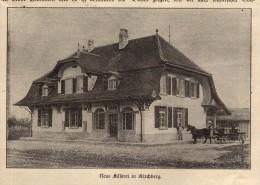 Original Zeitungsausschnitt - 1911 - Käserei In Kirchberg !!! - SG St. Gallen