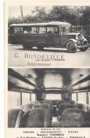 YVETOT Entreprise G. BONDEVILLE Robert Thomas Car De Tourisme, Taxi, Excursions - Yvetot