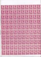 17   ROMANIA 1945 KING MIHAI 100X STAMPS, 500 LEI ,MNH,** MINISHEET. - 1918-1948 Ferdinand, Charles II & Michael