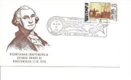 Indépendance USA - Washington ( FDC Du Guatémala De 1976 à Voir) - Indépendance USA