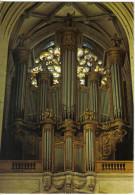 Carte Postale Musique Les Grandes Orgues  Cathédrale De Troyes Trés Beau Plan - Cartes Postales