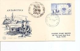 Philatélie Polaire ( FDC De AAT De 1958 à Voir) - Estaciones Científicas