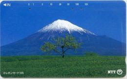 Telefonkarte Japan -  Gebirgslandschaft - 111-057 - Gebirgslandschaften