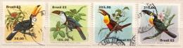 Brazil Used Set - Oiseaux