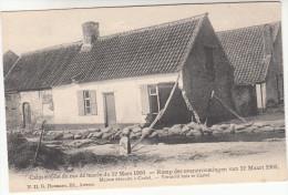 Ramp Der Overstroomingen Van 12 Maart 1906, Vernield Huis Te Castel  (pk18529) - Hamme