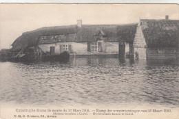 Ramp Der Overstroomingen Van 12 Maart 1906, Overstroomde Huizen Te Castel  (pk18530) - Hamme