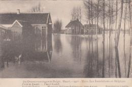 Ramp Der Overstroomingen Van 12 Maart 1906, Zicht Te Kastel  (pk18532) - Hamme