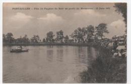 CPA 21 - PONTAILLER SUR SAONE - FETE DU PAQUIER DU BOIS - 12 JUIN 1921 - France