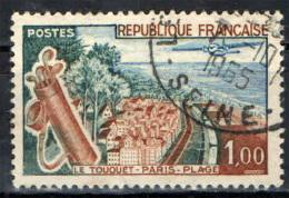 FRANCIA - 1962 - SPIAGGIA DI LE TOUQUET - USED - Gebraucht