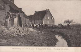 Ramp Der Overstroomingen Van 12 Maart 1906, Hamme Drij Goten, Opruiming Der Puinen (pk18536) - Hamme