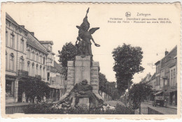 Zottegem, Heldenlaan, Standbeeld Der Gesneuvelden 1914-1918 (pk18545) - Zottegem