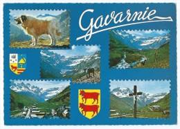 1233B -  Souvenir De GAVARNIE -Multivues (Berger Des Pyrénées, Village, Croix...)- Animée - CPSM 1974 - Scan Recto-Verso - Gavarnie