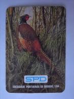 1 CALENDAR CALENDARIO CALENDRIER KALENDER SMALL - ANIMAL AVE PÁSSARO PASSARO BIRD OISEAU UCCELLO PÁJARO PAJARO VOGEL - Klein Formaat: 1981-90
