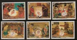 Gibraltar 2002 - Crèches, Noël 2002 - 6 Val Neufs // Mnh - Gibraltar