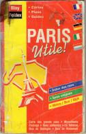 PLAN PARIS UTILE  Cartes Plans Guides  BLAY  FOLDEX - Europe