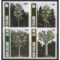 Neuseeland 1989 Bäume 1077/80 Postfrisch - Nouvelle-Zélande