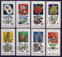 RWANDA 1975 - Agriculture, Fleurs, Céréales, 1975 Année Agricole - 8 Val Neuf // Mnh - Rwanda