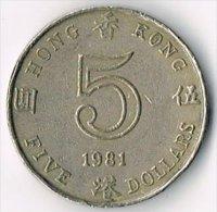 Hong Kong 1981 $5 - Hong Kong