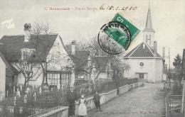Beaucourt (Territoire De Belfort) - Rue Du Temple - Carte N°34 - Beaucourt