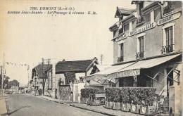 Domont (Seine-et-Oise) - Avenue Jean-Jaurès - Le Passage à Niveau - Carte E.M. N°7809 Non Circulée - Domont