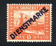 Saar,Dienst,12 I,PF I,xx - Dienstmarken