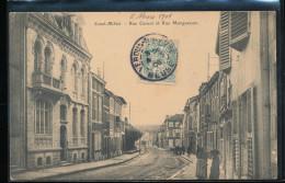 55 --  Saint - Mihiel -- Rue Carnot Et Rue  Morguesson - Saint Mihiel